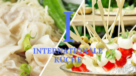 Internationale Küche